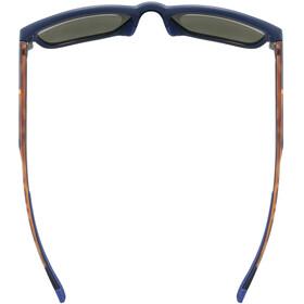 UVEX LGL 42 Glasses blue matt/havanna/litemirror silver